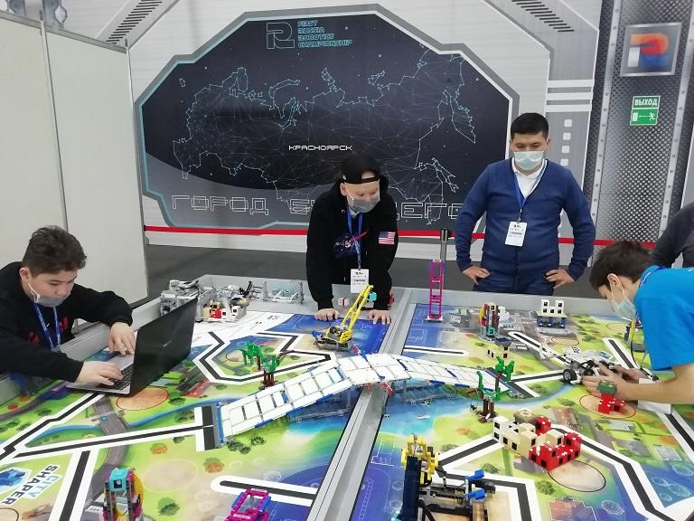 Всероссийский чемпионат по робототехнике с международным участием FIRST RUSSIA ROBOTICS CHAMPIONSHIP стартовал!